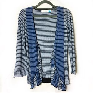 Sparrow | Anthropologie Blue Stripe Cardigan